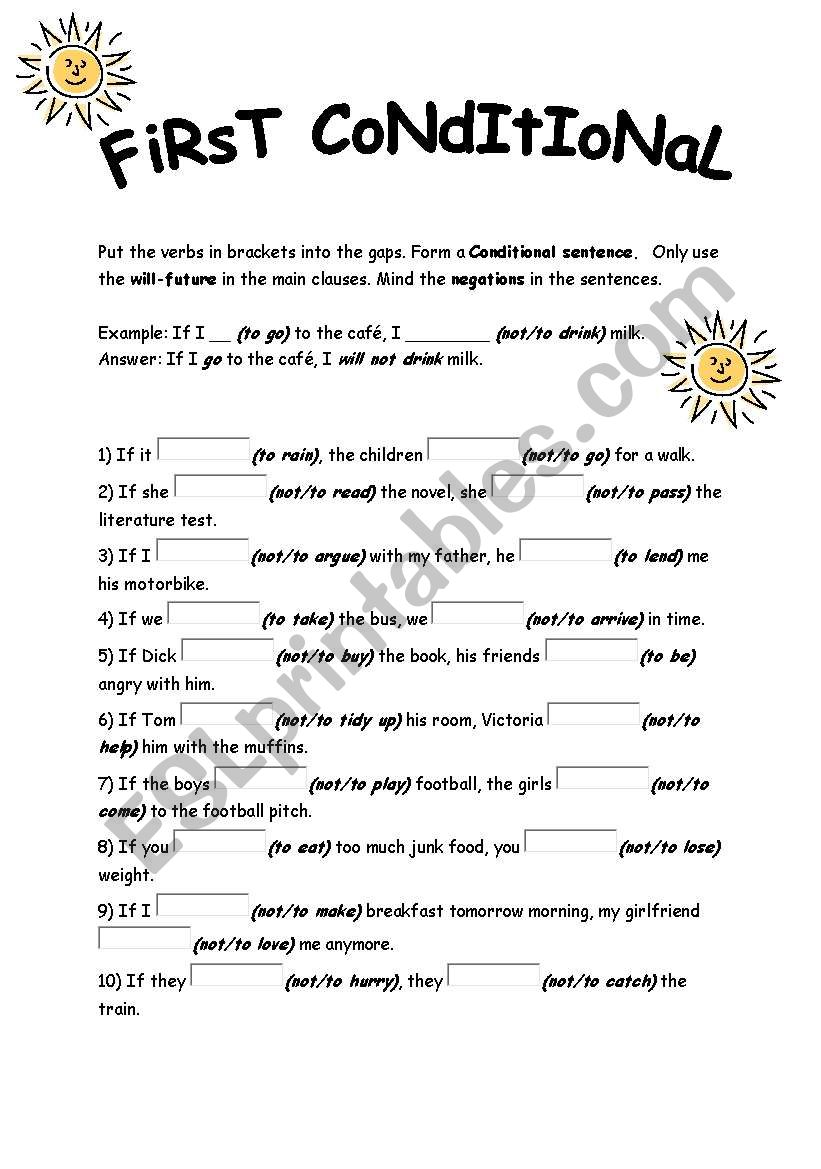 second conditional reading comprehension pdf