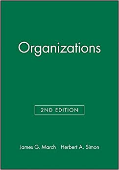 james g march y herbert a simon organizations pdf